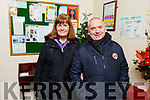 Carmel Haye and Mick O'Neill attending the Curraheen Choral service in St Brendan's Church, Curraheen on Sunday evening