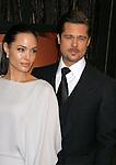 SANTA MONICA, CA. - January 08: Actors Angelina Jolie and Brad Pitt arrive at VH1's 14th Annual Critics' Choice Awards held at the Santa Monica Civic Auditorium on January 8, 2009 in Santa Monica, California.