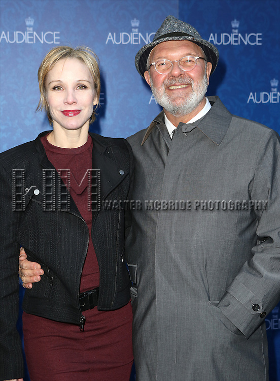 Charlotte D'Amboise and Walter Bobbie attends the Broadway Opening Night Performance of 'The Audience' at The Gerald Schoendeld Theatre on March 8, 2015 in New York City.