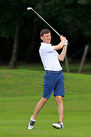Jason Tobin (Castletroy) on the 1st fairway during the AIG Barton Shield Munster Final 2018 at Thurles Golf Club, Thurles, Co. Tipperary on Sunday 19th August 2018.<br /> Picture:  Thos Caffrey / www.golffile.ie<br /> <br /> All photo usage must carry mandatory copyright credit (© Golffile   Thos Caffrey)