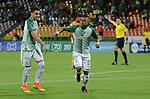 Atlético Nacional venció como local 2-0 a Envigado. Fecha 13 Liga Águila I-2017.