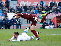 Dries Mertens  during the  italian serie a soccer match,between SSC Napoli and Torino       at  the San  Paolo   stadium in Naples  Italy , December 18, 2016