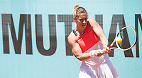 French Pauline Parmentier during Mutua Madrid Open Tennis 2017 at Caja Magica in Madrid, May 06, 2017. Spain.<br /> (ALTERPHOTOS/BorjaB.Hojas) /NORTEPHOTO.COM