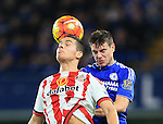 Chelsea's Cesar Azpilicueta tussles with Sunderland's Jack Rodwell<br /> <br /> Barclays Premier League- Chelsea vs Sunderland - Stamford Bridge - England - 19th December 2015 - Picture David Klein/Sportimage