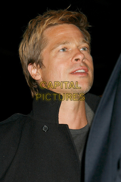 "BRAD PITT.""God Grew Tired of Us"" Los Angeles Premiere held at The Pacific Design Center, West Los Angeles, California, USA..January 8th, 2007.headshot portrait .CAP/ADM/RE.©Russ Elliot/AdMedia/Capital Pictures"
