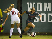 Stanford, CA - October 3, 2019: Carly Malatskey at Laird Q Cagan Stadium. The Stanford Cardinal beat the Washington State Cougars 5-0.
