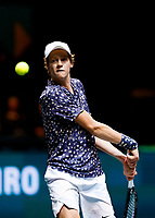 Rotterdam, The Netherlands, 14 Februari 2020, ABNAMRO World Tennis Tournament, Ahoy, Jannik Sinner (ITA).<br /> Photo: www.tennisimages.com