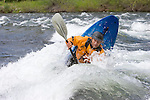 8.0 megapixel digital capture.  Alex Carlson at Happy Hole on the Wenatchee River at Peshastin.  May 2005