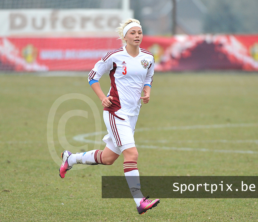 France U19 - Russia U19 : Ksenia Kovalenko.foto DAVID CATRY / Nikonpro.be