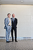 Jesper Madsen & Yu Zhang of Matthews Asia Fund pictures: executive portrait photography of Jesper Madsen & Yu Zhang of Matthews Asia Fund, by San Francisco corporate photographer Eric Millette