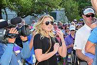 Paulina Gretzky, Dustin Johnson's (USA) partner was present with son Tatum following round 7 of the World Golf Championships, Dell Technologies Match Play, Austin Country Club, Austin, Texas, USA. 3/26/2017.<br /> Picture: Golffile | Ken Murray<br /> <br /> <br /> All photo usage must carry mandatory copyright credit (&copy; Golffile | Ken Murray)