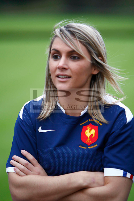Marie Alice Yahe of France.RBS 6 Nations Launch.at Hurlingham Club, London 26/01/2011..Picture by Kieran Galvin -  Copyright:  IPS Photo Agency: 21 Delisle Road  London SE28 0JD - Personal mobile: 07866733258 ...