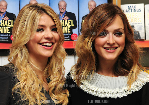 Fearne Cotton and Holly Willoughby at a signing to promote the book 'The Best Friends Guide to Life'.Foyles Bookshop Westfield Shopping Centre.London 16/10/2010  Picture by: Simon Burhcell / Featureflash