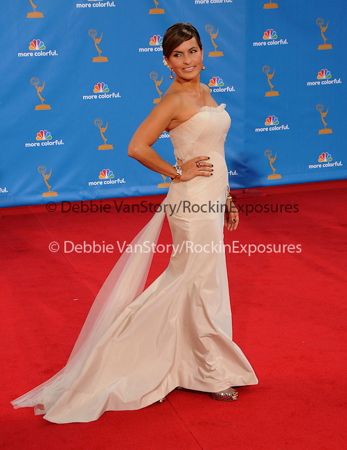 Mariska Hargitay ..  at The 62nd Anual Primetime Emmy Awards held at Nokia Theatre L.A. Live in Los Angeles, California on August 29,2010                                                                   Copyright 2010  DVS / RockinExposures