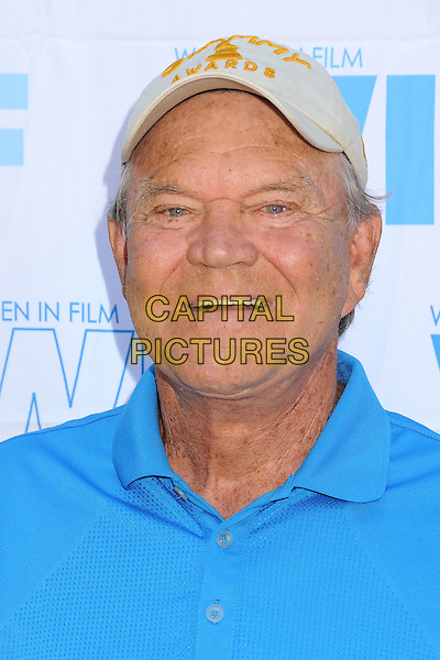 Glen Campbell<br /> 16th Annual Women In Film Malibu Golf Classic held at the Malibu Golf Club, Malibu, California, USA, 13th July 2013.<br /> portrait headshot cap hat blue <br /> CAP/ADM/BP<br /> &copy;Byron Purvis/AdMedia/Capital Pictures