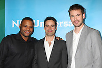 BEVERLY HILLS, CA - JULY 24: Anthony Anderson, Jesse Bradford and Zach Cregger at the 2012 NBC Universal TCA summer press tour at The Beverly Hilton Hotel on July 24, 2012 in Beverly Hills, California. Credit: mpi25/MediaPunch Inc. /NortePhoto.com<br />