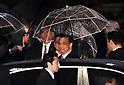 Chinese Premier Li Keqiang arrives in Japan
