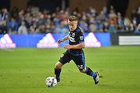 San Jose, CA - Saturday, March 04, 2017: Tommy Thompson prior to a Major League Soccer (MLS) match between the San Jose Earthquakes and the Montreal Impact at Avaya Stadium.