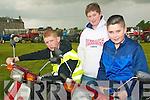 Lixnaw Vintage Rally: Attending  the Lixnaw Vintage Rally s on Sunday were Chris Mahony, Lixnaw, John Mahony, Abbeydorney & Cian Donovan, Abbeydorney.