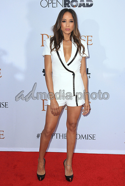"12 April 2017 - Hollywood, California - Dania Ramirez. Premiere Of Open Road Films' ""The Promise"" held at TCL Chinese Theatre. Photo Credit: AdMedia"