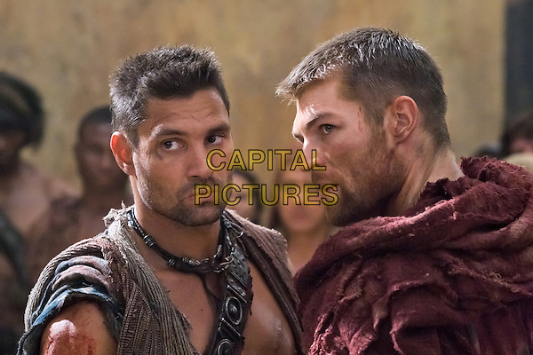 Manu Bennett, Liam Mcintyre.in Spartacus: Vengeance (Spartacus: Blood and Sand).*Filmstill - Editorial Use Only*.CAP/FB.Supplied by Capital Pictures.