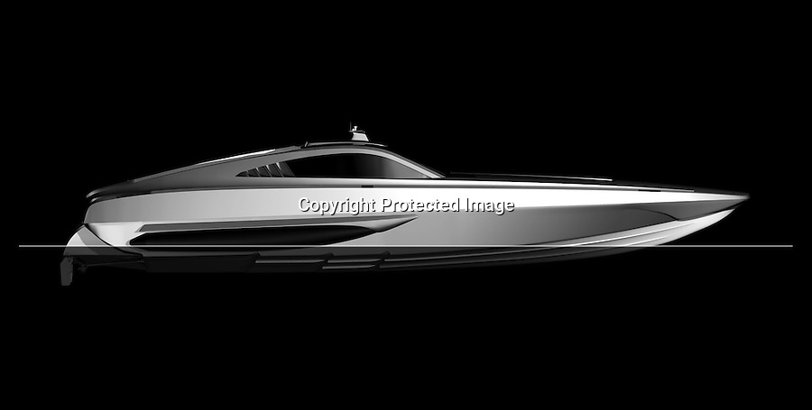 BNPS.co.uk (01202) 558833<br /> Picture: collect<br /> <br /> This James Bond-style powerboat made from Kevlar and carbon fibre was built to chase down pirates with its remote controlled machine gun and 100mph speeds. But now the cutting edge boat - the fastest military vessel ever made - is being sold with no reserve and is tipped to sell for a fraction of its &pound;1.5 million value. It was dubbed &quot;the Bugatti Veyron of the seas&quot; at it's launch, and Top Gear host Jeremy Clarkson called it &quot;the most beautiful thing ever created by man&quot;. But seven years on the 48ft superboat is among 300 lots including two other incomplete boats being sold off by manufacterers XSMG World to recover money owed to HM Revenue and Customs.