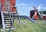 Europe, SWE, Sweden, Oland, Lerkaka, Typical Windmill....[ For each utilisation of my images my General Terms and Conditions are mandatory. Usage only against use message and proof. Download of my General Terms and Conditions under http://www.image-box.com or ask for sending. A clearance before usage is necessary...Material is subject to royalties. Each utilisation of my images is subject to a fee in accordance to the present valid MFM-List...Contact | archive@image-box.com | www.image-box.com ]