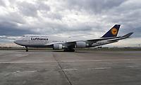 Boeing 747 der Lufthansa - Frankfurt 16.10.2019: Eichwaldschuele Schaafheim am Frankfurter Flughafen