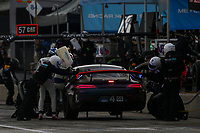 #4 Team TGM Mercedes-AMG, GS: Ted Giovanis, Guy Cosmo, Pit Stop
