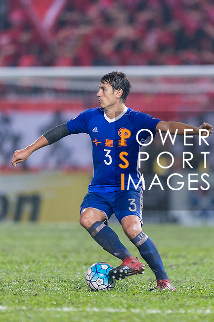 Eastern SC Midfielder Diego Eli Moreira in action during the AFC Champions League 2017 Group G match between Eastern SC (HKG) vs Guangzhou Evergrande FC (CHN) at the Mongkok Stadium on 25 April 2017, in Hong Kong, China. Photo by Chung Yan Man / Power Sport Images