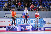 "SHORT TRACK: MOSCOW: Speed Skating Centre ""Krylatskoe"", 15-03-2015, ISU World Short Track Speed Skating Championships 2015, ©photo Martin de Jong"