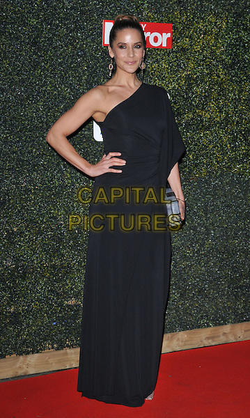 Amanda Byram attends the Daily Mirror Pride of Sport Awards 2015, Grosvenor House Hotel, Park Lane, London, England, UK, on Wednesday 25 November 2015. <br /> CAP/CAN<br /> &copy;Can Nguyen/Capital Pictures