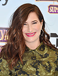 WESTWOOD, CA - JUNE 30:  Kathryn Hahn attends the Columbia Pictures and Sony Pictures Animation's world premiere of 'Hotel Transylvania 3: Summer Vacation' at Regency Village Theatre on June 30, 2018 in Westwood, California.