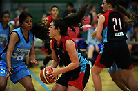 Charlisse Leger-Walker (St Peter's School Cambridge) in axction against Western Heights HS during the 2017 AA Girls' Secondary Schools Basketball Premiership National Championship at the B&M Centre in Palmerston North, New Zealand on Monday, 2 October 2017. Photo: Dave Lintott / lintottphoto.co.nz