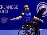 Rotterdam, Netherlands, December 13, 2017, Topsportcentrum, Ned. Loterij NK Tennis, Wheelchair, Rutger Bakker (NED)<br /> Photo: Tennisimages/Henk Koster