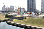 A view of the proposed site of Ariake Arena for the 2020 Tokyo Olympic and Paralympic Games is seen in Tokyo, Japan, on September 10, 2017. (Photo by Hiroyuki Ozawa/AFLO)