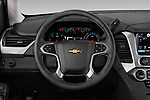 Car pictures of steering wheel view of a 2019 Chevrolet Tahoe LS 5 Door SUV