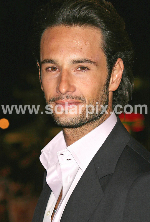 **ALL ROUND PICTURES FROM SOLARPIX.COM**.**WORLDWIDE SYNDICATION RIGHTS**.Rodrigo Santoro attends the UK premiere of 300 at Vue, Leicester Square, London on 15.03.07..JOB REF:  3532     SSD     DATE: 15.03.07.**MUST CREDIT SOLARPIX.COM OR DOUBLE FEE WILL BE CHARGED* *UNDER NO CIRCUMSTANCES IS THIS IMAGE TO BE REPRODUCED FOR ANY ONLINE EDITION WITHOUT PRIOR PERMISSION*