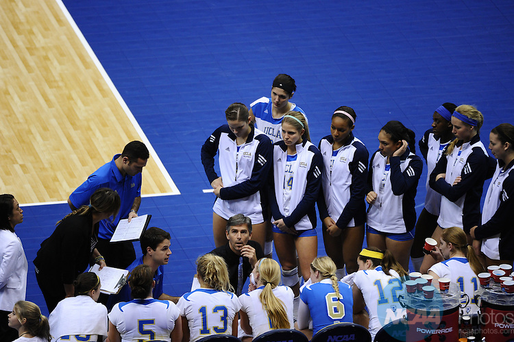 17 DEC 2011:  Illinois takes on UCLA during the Division I Women's Volleyball Championship held at the Alamodome in San Antonio, TX. UCLA defeated Illinois 3-1. Joshua Duplechian/NCAA Photos