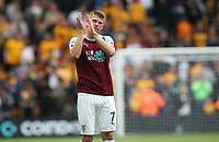 Burnley's Johann Gu_mundsson at the end of todays match<br /> <br /> <br /> Photographer Rachel Holborn/CameraSport<br /> <br /> The Premier League - Wolverhampton Wanderers v Burnley - Sunday 16th September 2018 - Molineux - Wolverhampton<br /> <br /> World Copyright &copy; 2018 CameraSport. All rights reserved. 43 Linden Ave. Countesthorpe. Leicester. England. LE8 5PG - Tel: +44 (0) 116 277 4147 - admin@camerasport.com - www.camerasport.com