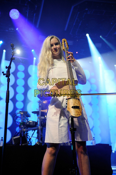 LONDON, ENGLAND - SEPTEMBER 3: Grace Chatto of Clean Bandit performing at the Camden Roundhouse as part of itunes Festival on September 3 in London, England.<br /> CAP/MAR<br /> &copy; Martin Harris/Capital Pictures