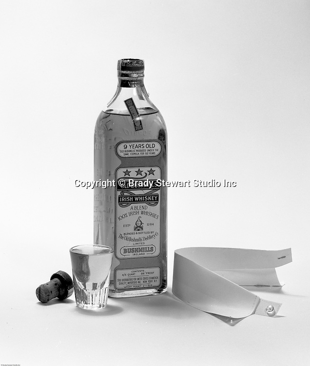 Client: old Bushmilles Distillery<br /> Ad Agency: Lando Advertising<br /> Contact: Mr. Ballintine<br /> Product: Old Bushmills Irish Whiskey<br /> Location:  Brady Stewart Studio at 725 Liberty Avenue in Pittsburgh<br /> <br /> Old Bushmills distillery began producing Whiskey over 400 years ago.  Today, Bushmills is Ireland's oldest working distillery.