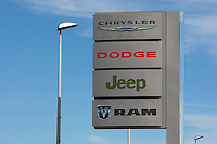A Chrysler Dodge Jeep Ram car dealership is pictured in Quebec city Wednesday October 19, 2011.