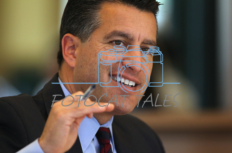 Nevada Gov. Brian Sandoval speaks during the Board of Examiners meeting Tuesday, Nov. 8, 2011, at the Capitol in Carson City, Nev..Photo by Cathleen Allison