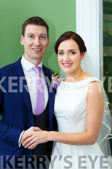 Gobnait Falvey, Aghadoe, Killarney, daughter of Maria and the late Seamus, and Chris Courtney, Glenbeigh son of Chris and Ina, who were marrried in the Prince of Peace church, Fossa on Saturday, Fr Noel Spring officiated at the ceremony, assisted Fr Looney and Fr Harrington, best man was Kieran Courtney, groomsmen were Gerard and Mark Courtney, bridesmaids were Margaret Herlihy, Helena Falvey and Margaret Cronin, the reception was held in the Dromhall Hotel the couple will reside in Aghadoe