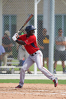 Boston Red Sox Nick Hamilton (41) during an instructional league game against the Minnesota Twins on September 26, 2015 at CenturyLink Sports Complex in Fort Myers, Florida.  (Mike Janes/Four Seam Images)