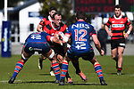 NELSON, NEW ZEALAND - SEPTEMBER 7: Tasman Mako B v Canterbury B. Trafalgar Park, Nelson, New Zealand. Saturday 7 September 2019. (Photo by Chris Symes/Shuttersport Limited)