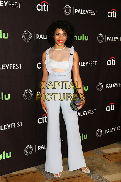 LOS ANGELES, CA - MARCH 19: Kelly McCreary at the 34th Annual PaleyFest presentation of Grey's Anatomy at the Dolby Theater in Los Angeles, California on March 19, 2017. <br /> CAP/MPI/DE<br /> &copy;DE/MPI/Capital Pictures