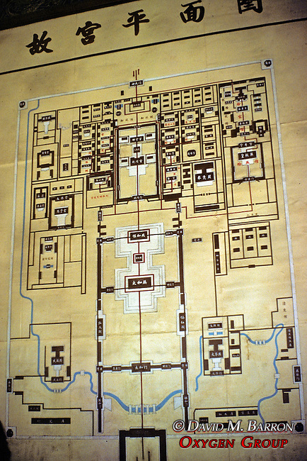 Map Of Forbidden City