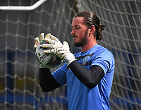 Sheffield Wednesday's Joe Wildsmith warms up<br /> <br /> Photographer Dave Howarth/CameraSport<br /> <br /> Carabao Cup Second Round Northern Section - Rochdale v Sheffield Wednesday - Tuesday 15th September 2020 - Spotland Stadium - Rochdale<br />  <br /> World Copyright © 2020 CameraSport. All rights reserved. 43 Linden Ave. Countesthorpe. Leicester. England. LE8 5PG - Tel: +44 (0) 116 277 4147 - admin@camerasport.com - www.camerasport.com